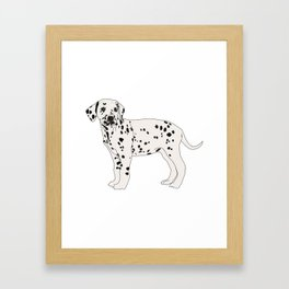 Dalmation Framed Art Print