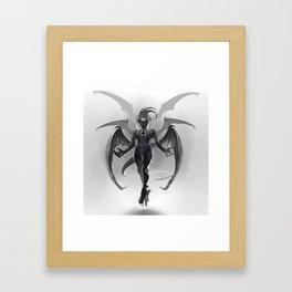 Demon Sire Framed Art Print