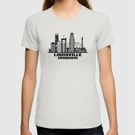 Louisville Iroquois Kentucky Skyline T-shirt