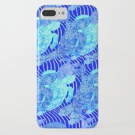 blue sea turtles iPhone Case