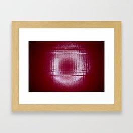 Under the Ring Light Framed Art Print