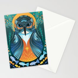 The Nesting Fisher King Stationery Cards