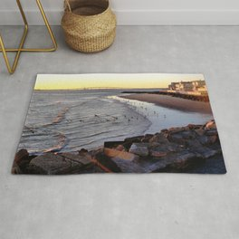By the shore (New Jersey) Rug