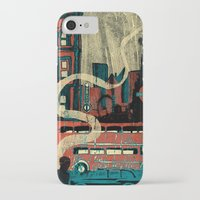 london iPhone & iPod Cases featuring London  by Peter Coleman