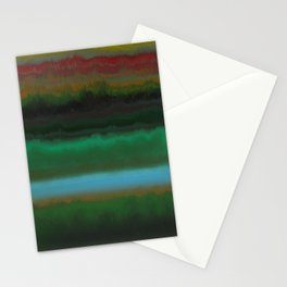 Summer Sunset Landscape Stationery Cards