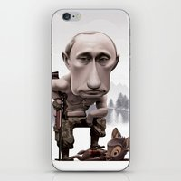 putin iPhone & iPod Skins featuring Putin by cristosalgado