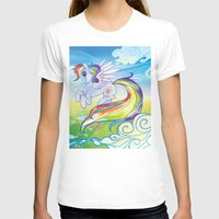 mlp T-shirts featuring Rainbow Dash - MLP by mmishee