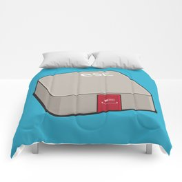 Escape Key Comforters