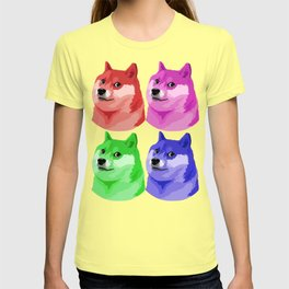 Doge in every color T-shirt