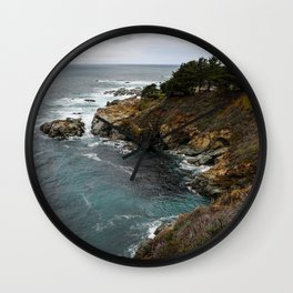 California Coastline Wall Clock
