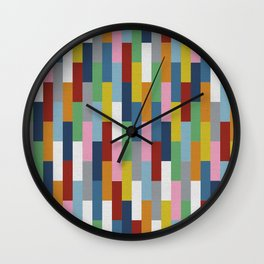 Bricks Rotate Wall Clock