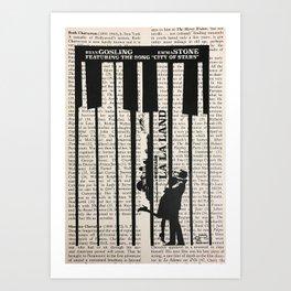 La La Land 2 Art Print
