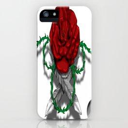 Darrell Merrill Nerd Artist FLOATING ROSE iPhone Case