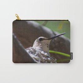 Hummingbird Momma Carry-All Pouch