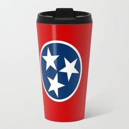 State flag of Tennessee, HQ image Travel Mug
