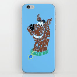 scooby iPhone Skin