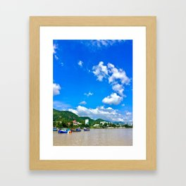 Vietnam NhaTrang Framed Art Print