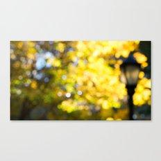 Blurry Foliage Canvas Print