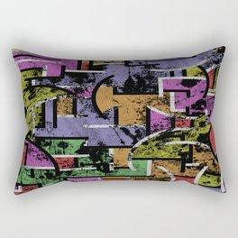 Textured Segregation Rectangular Pillow
