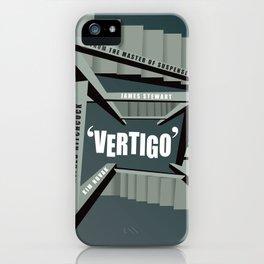 Vertigo - Alternative Movie Poster iPhone Case