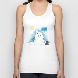 Snow Body Loves Me Unisex Tank Top