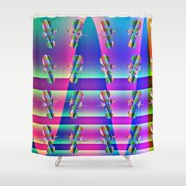 Fantasy-war-pattern #1 Shower Curtain
