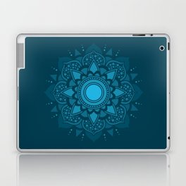 Blue Mandala #4 Laptop & iPad Skin