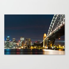 Sydney City Scape Canvas Print