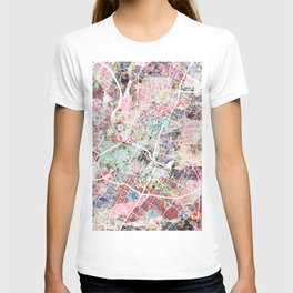 Austin map - Portrait T-shirt