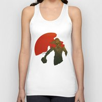 thor Tank Tops featuring Thor by Pulvis