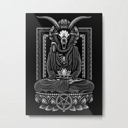Baphomet Inner Peace Metal Print