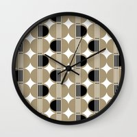 guitar Wall Clocks featuring guitar by ottomanbrim