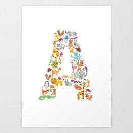 Animals: A Art Print