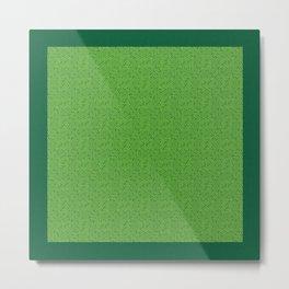 Pattern 022: Worms II GN Metal Print