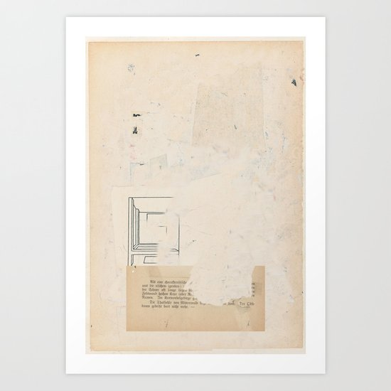 Bluff (Talsohle) Art Print