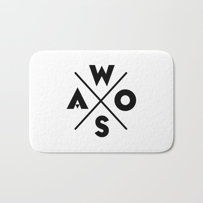 WOSA - World of Street Art Bath Mat