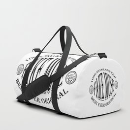 Fake Muse badge (black) Duffle Bag