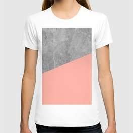 Simply Concrete Dogwood Pink T-shirt