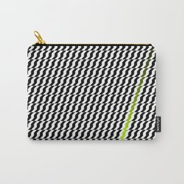A Stripe of Green Carry-All Pouch