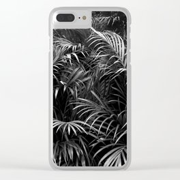 Palm Leaves Art Tropical Plants Rainforest Photography Jungle Clear iPhone Case