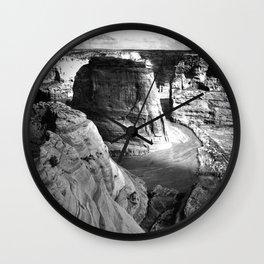 Vintage Landscape : Canyon de Chelly National Monument, Arizona Wall Clock