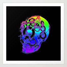 The Bounden Skull Art Print