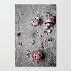 The wild flowers grows here Canvas Print
