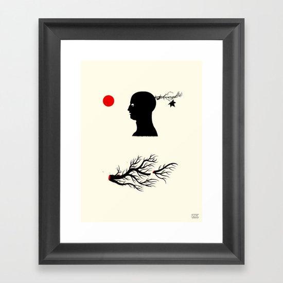 The Creator of Nature Framed Art Print