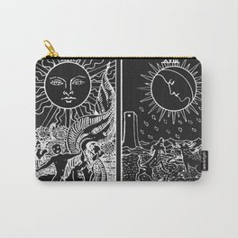 The Sun and Moon Tarot Cards | Obsidian & Pearl Carry-All Pouch