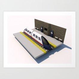 Underground Station Art Print