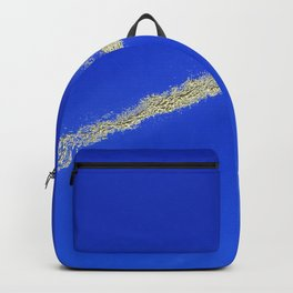 Flash of gold in the sky Backpack