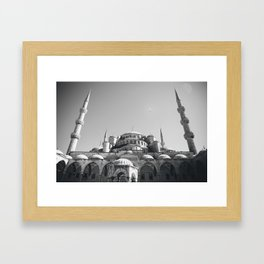 The Blue Mosque Framed Art Print