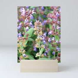 A riot of blooms Mini Art Print