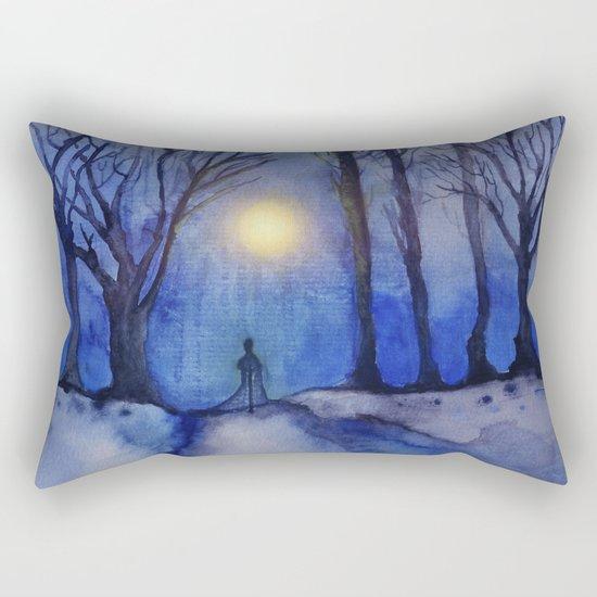 Track 11: A Winter's Tale Rectangular Pillow